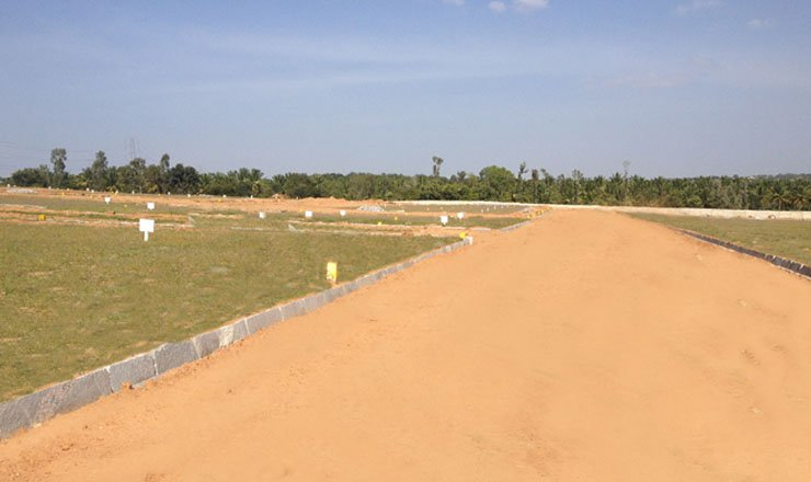 gated community plots in mysore